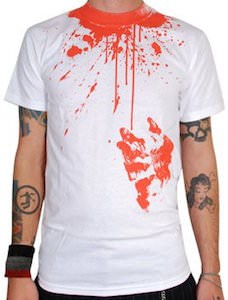 Blood On A T-Shirt