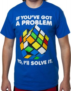 Rubiks Cube Solve It T-Shirt