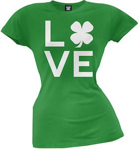 Shamrock Love Women's T-Shirt