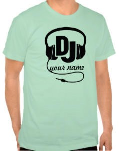 Personalized DJ T-Shirt