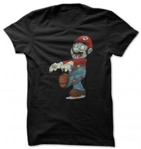 Super Mario Zombie T-Shirt