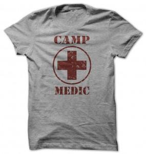 Camping Camp Medic T-Shirt