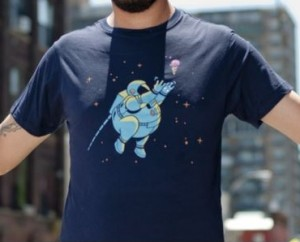 Chasing The Space Ice Cream T-Shirt