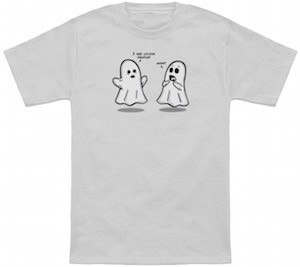 Ghost I See Living People T-Shirt