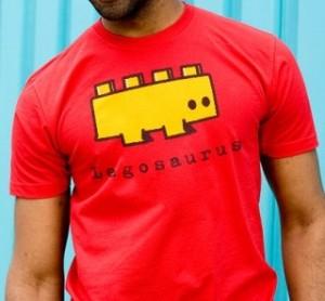 Yellow Legosaurus T-Shirt