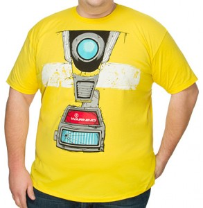 Boarderlands Claptrap Costume T-Shirt