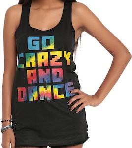 Go Crazy And Dance Women's Girls Tank Top