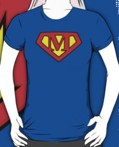 Super Mom M Logo T-Shirt