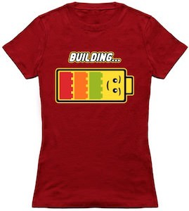 LEGO Building Battery T-Shirt