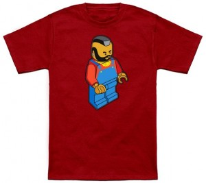 Miniature Mr. T Figurine T-Shirt