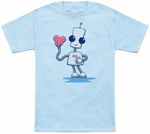 Robot Steals Your Heart T-Shirt