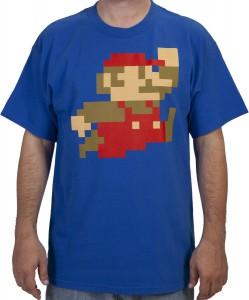 Super Mario 8 Bit T-Shirt
