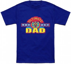Ultimate Dad Superhero T-Shirt