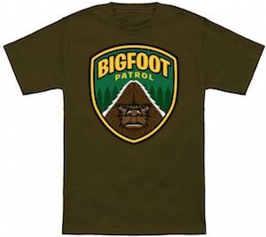 Bigfoot Patrol T-Shirt