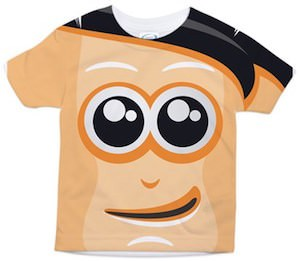 Crazy Face Toddler T-Shirt