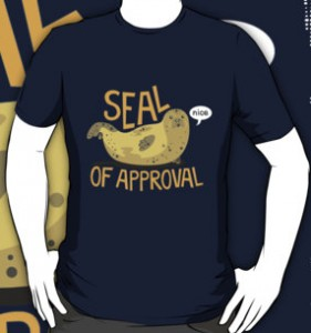 Full Of Support Seal T-Shirt