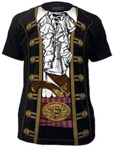 Classic Pirate Costume T-Shirt
