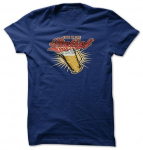 Send In The Relief Pitcher Beer T-Shirt
