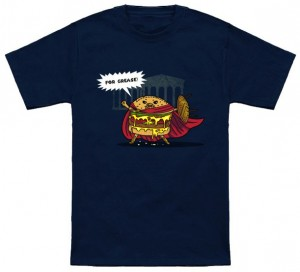 Burgers Stand For Grease T-Shirt