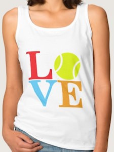Love Tennis Women's Tank Top