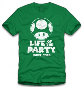 Mushroom Life Of The Party T-Shirt