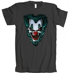 Scary Horror Story Clown Face T-Shirt