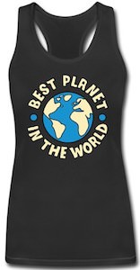 Best Planet In The World Women's Tank Top