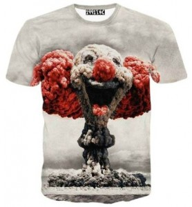 Explosion Cloud Of A Clown T-Shirt