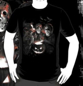 Halloween Trio Scare Team T-Shirt