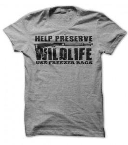 Hunting Help Preserve Wildlife T-Shirt