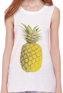 Women's Pineapple Tank Top