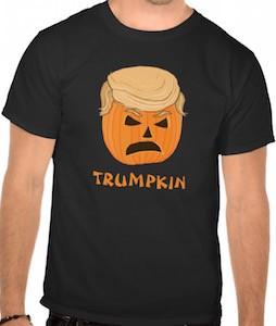 Donald Trump Halloween Pumpkin T-Shirt