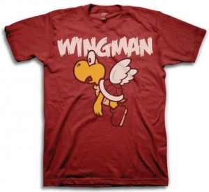 Flying Turtle Koopa Wingman T-Shirt