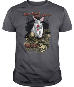 Monty Python Killer Rabbit Run Away T-Shirt