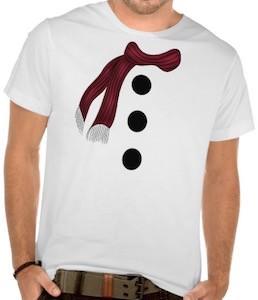 Snowman Costume T-Shirt