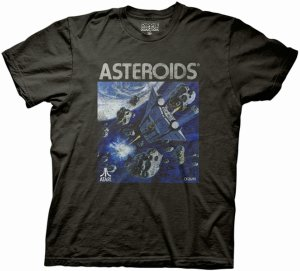 Atari Asteroids Game T-Shirt