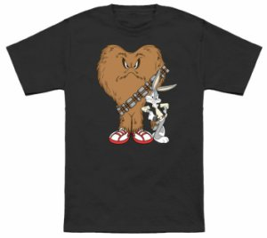 Bugs Bunny And Gossimer Star Wars T-Shirt