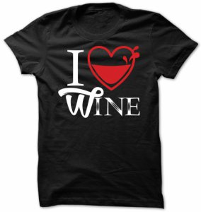 I Heart Wine T-Shirt