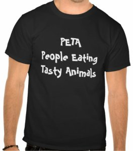 PETA People Eating Tatsy Animals T-Shirt