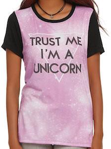 Women's Trust Me I' A Unicorn T-Shirt