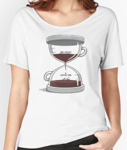 Women's Coffee Hourglass T-Shirt