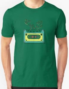 Cassette Tape Classic Christmas T-Shirt