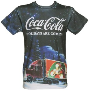 Coca Cola Holiday Truck T-Shirt