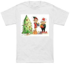 Holiday Elves Cheer T-Shirt