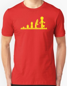 LEGO Mini Figure Evolution T-Shirt