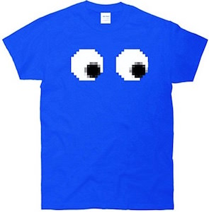 8 Bit Gamer Eyes T-Shirt