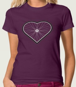 I Heart Biking T-Shirt