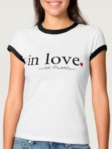 Personalized In Love With T-Shirt