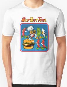 Retro Burgertime T-Shirt
