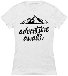 Mountains Adventures Await T-Shirt
